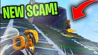 Download *NEW SCAM* The Gun Slide Scam! (Scammer Gets Scammed) Fortnite Save The World Video