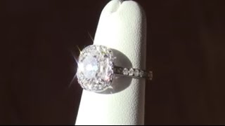 Download Cushion Cut Engagement Rings - Making A 2ct Cushion Cut Engagement Ring - Vanessa Nicole Jewels Video