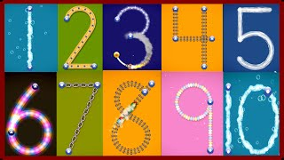 Download ✿★LetterSchool - Learn to write Letters and Numbers★✿ Numbers 1 to 10 Best app for kids Video