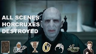 Download VOLDEMORT'S 7 HORCRUXES GETTING DESTROYED! Video