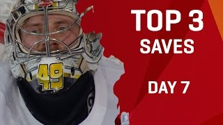 Download Top 3 Saves | Day 7 | #IIHFWorlds 2017 Video