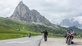 Download Motorcycle tour on Alps Video