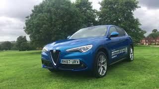 Download New Alfa Romeo Stelvio Blue RK67URV Video
