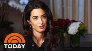 Download Amal Clooney Takes ISIS To Trial Over Human Trafficking, Genocide | TODAY Video