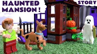 Download Scooby Doo LEGO Stop Motion Toy Story Prank with Minions Thomas & Friends Mystery Haunted Mansion Video