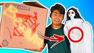 Download Unboxing a Haunted Mystery Box on eBay! **Scary** Video