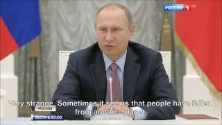 Download Putin Blasts Lithuanian 'Idiotic' Decision to Ban Entry to Russian Judges Video