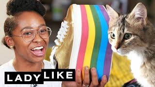 Download Freddie Reveals What's In Her Shoe Trunk • Ladylike Video