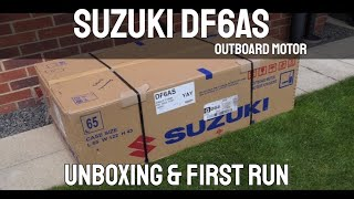 Download Suzuki DF6AS 6HP Outboard Motor Unboxing Video