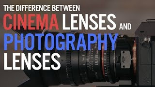 Download What is the difference between a cinema lens and a photo lens? Video