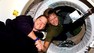 Download Two Historic Female Space Commanders Video