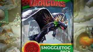 Download Dragons: Rise of Berk - SNOGGLETOG Pack Video