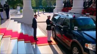 Download Arrivee du Premier Ministre DANIEL KABLAN DUNCAN a la Maison Blanche Video