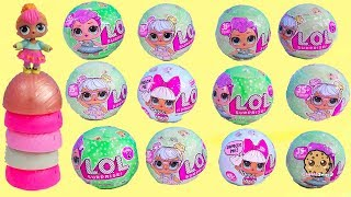 Download LOL Surprise Mystery Blind Bag Ball Doll Haul - Cookie Swirl Toy Video Video