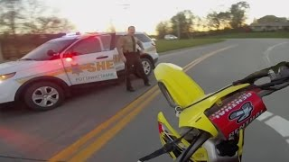 Download 10 Minute Dirtbike Chase with Police!! Video
