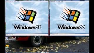 Download Windows 98 vs 99 in virtual pc Video
