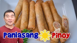 Download Panlasang Pinoy Lumpia Recipe Remake - Makeover of Oldest Lumpia Video Video