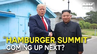 Download NORTH KOREA-U.S TALKS BACK ON TRACK following the historic Trump-Kim meeting at DMZ Video