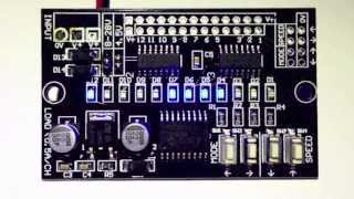 Download The LED Magician Version 2.0 - LED Sequencer, Chaser, Running Lights Generator Module! Video