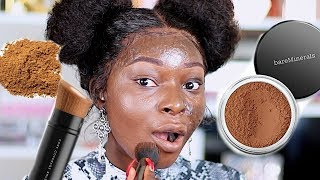 Download USING ONLY POWDER FOR MY MAKEUP | Shalom Blac Video