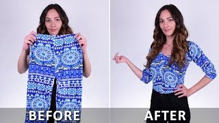 Download Super Cool Clothing Hacks You Must Try! DIY Ideas by Blossom Video