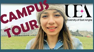 Download UEA Campus Tour! Walk around UEA with me Video