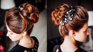 Cute Messy Bun Hairstyle For Prom Free Download Video Mp4 3gp M4a