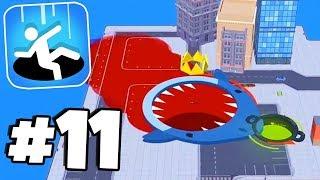 Download BLOODY SHARK & WET WHALE SKINS! - Hole.io Gameplay Tips & Tricks Walkthrough Part 11 Video