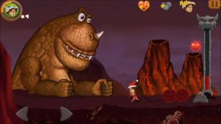 Download Jungle Adventures 2: STORY - World 5 Level 5...DINO BOSS ...XMAS... Gameplay (Free Game On Android) Video