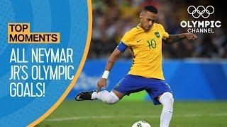 Download Neymar Jr.   All Olympic Goals!   Top Moments Video