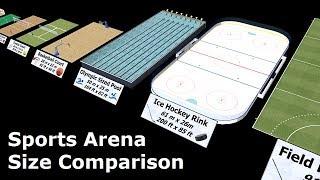Download Sports Arena Size Comparison Video
