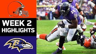 Download Browns vs. Ravens | NFL Week 2 Game Highlights Video