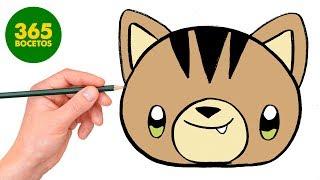 Download COMO DIBUJAR GATO KAWAII PASO A PASO - Dibujos kawaii faciles - How to draw a CAT Video