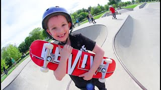 Download FATHER SON SKATEBOARDING! /New Smaller Board For Kids! Video