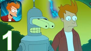 Download FUTURAMA Worlds of Tomorrow Gameplay Part 1 - Getting Started (iOS Android) Video