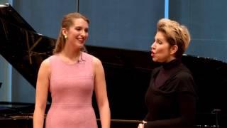 """Download Joyce DiDonato Master Class 2015: Rossini's """"Nacqui all'affanno"""" from La Cenerentola Video"""