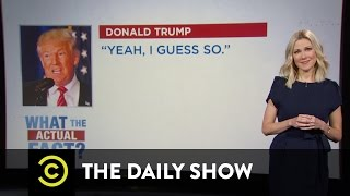 Download What the Actual Fact? - Donald Trump's Anti-Terrorism Policies: The Daily Show Video