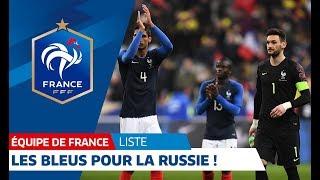 Download Equipe de France : la liste pour la Russie I FFF 2018 Video