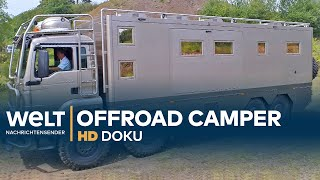 Download Offroad Reisemobile - Die Monster unter den Wohnmobilen | HD Doku Video