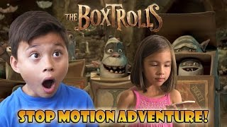 Download THE BOXTROLLS to the RESCUE! Stop Motion Adventure! Video