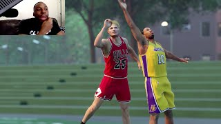 Download Coach Tyronn Lue vs Coach Steve Kerr! One on One on the Blacktop! Let's Go! Funny NBA2k Gameplay Video