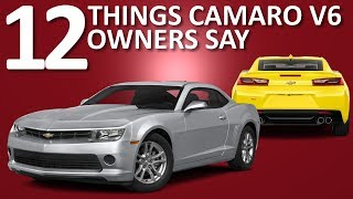 Download Things Camaro V6 Owners Say Video