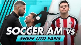 Download Volley Challenge LIVE | Soccer AM vs Sheff Utd Fans feat Tony Bellew Video