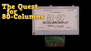 Download The Quest for 80 Columns on the Commodore 64 Video