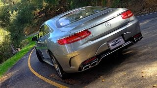 Download 2015 Mercedes Benz AMG S63 Coupe FIRST DRIVE REVIEW Video