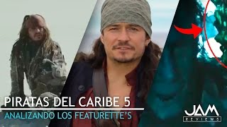 Download ANALIZANDO LOS FEATURETTE'S | PIRATAS DEL CARIBE 5: LA VENGANZA DE SALAZAR | JAM REVIEWS Video