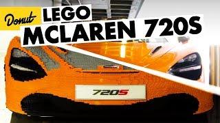 Download Life Size McLaren 720s - Built out of LEGO Bricks Video