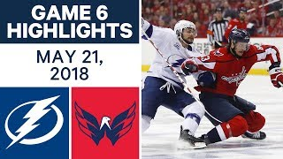 Download NHL Highlights | Lightning vs. Capitals, Game 6 - May 21, 2018 Video