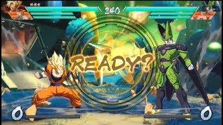 Download Dragon Ball FIghterz - Demo Gameplay #2 | Goku, Gohan, Golden Frieza, vs Majin Boo, Cell, Goku Video