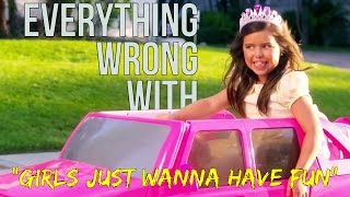 Download Everything Wrong With Sophia Grace - ″Girls Just Wanna Have Fun″ Video